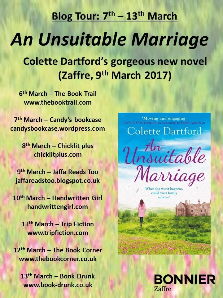 Blog tour banner - An Unsuitable Marriage FINAL