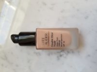 Estee Lauder Double Wear Water Fresh Foundation (with pump) Shade Pebble Used less than 10 times $30